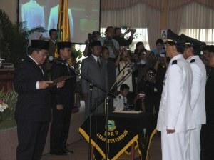 Acara Pelantikan Bupati/Wakil Bupati Kuningan oleh Gubernur Jawa Barat H. Ahmad Heryawan, Lc