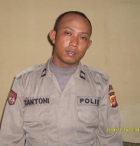 T. Antoni alias Mastino Polisi Gadungan