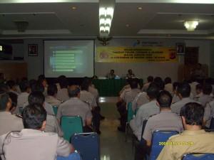 Peserta Gelar Operasional (GO) tingkat Polwil Cirebon