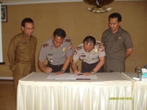 Giat pertemuan dengan anggota KPU
