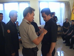 Kapolres melantik perwakilan anggota Senkom Mitra Polri