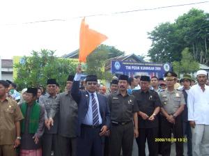 Bupati melepas Calon Jemaah Haji Kabupaten Kuningan