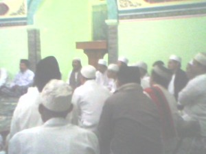 Sholawat di masjid Al Aman Polres Kuningan