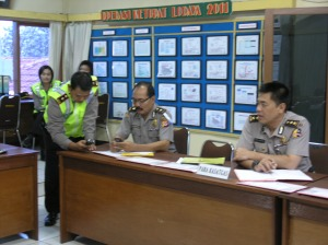 Supervisi Mabes Polri Ops Ketupat Lodaya-2011 Polres Kuningan