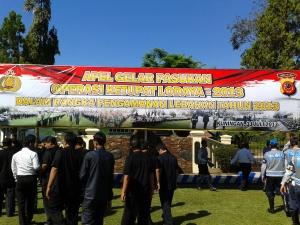 Apel Gelar Pasukan Operasi Ketupat Lodaya 2013