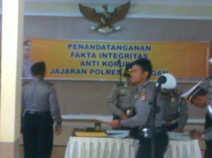 penandatanganan Pakta Integritas